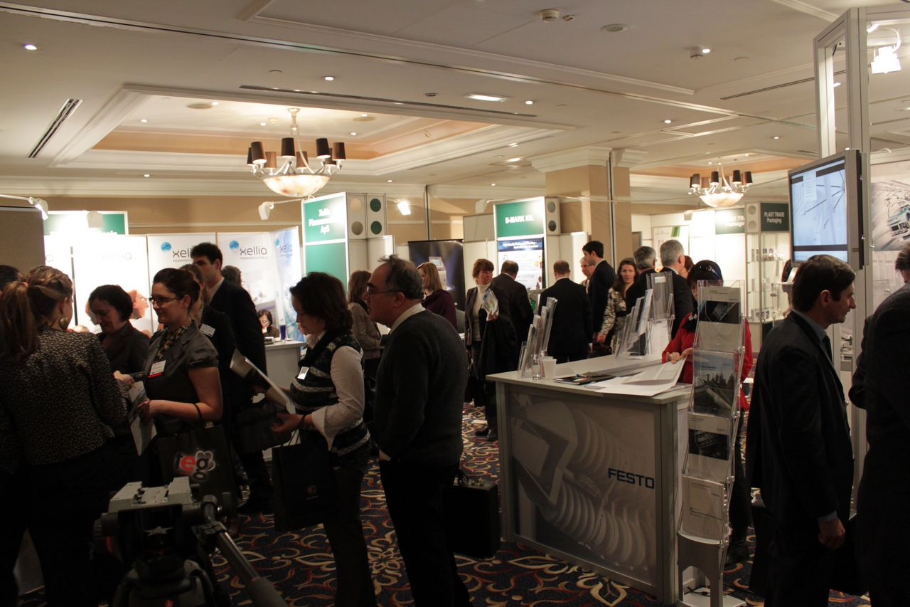 Building relationships - pharmaceutical industry Europe