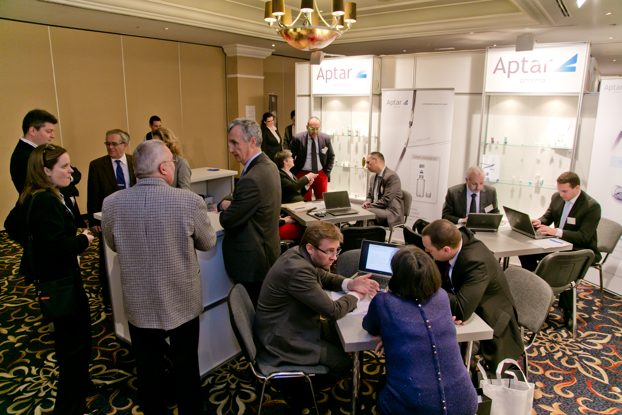 One-to-one meetings with Aptar Pharma at PHARM Connect 2015