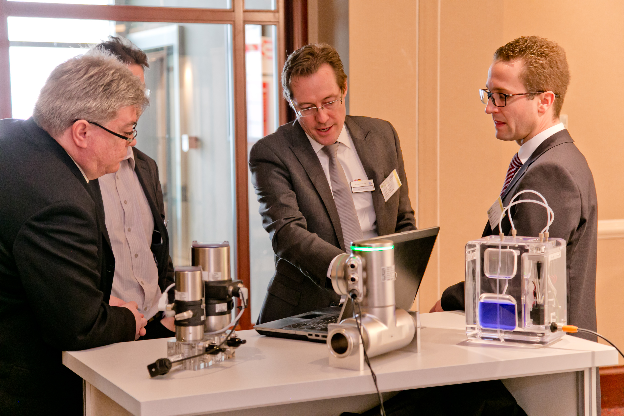 One-to-one meeting with Bürkert Fluid Control Systems at PHARM Connect 2015