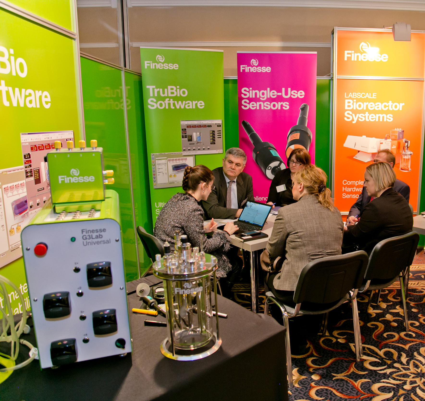 One-to-one meeting with Finesse at PHARM Connect 2015