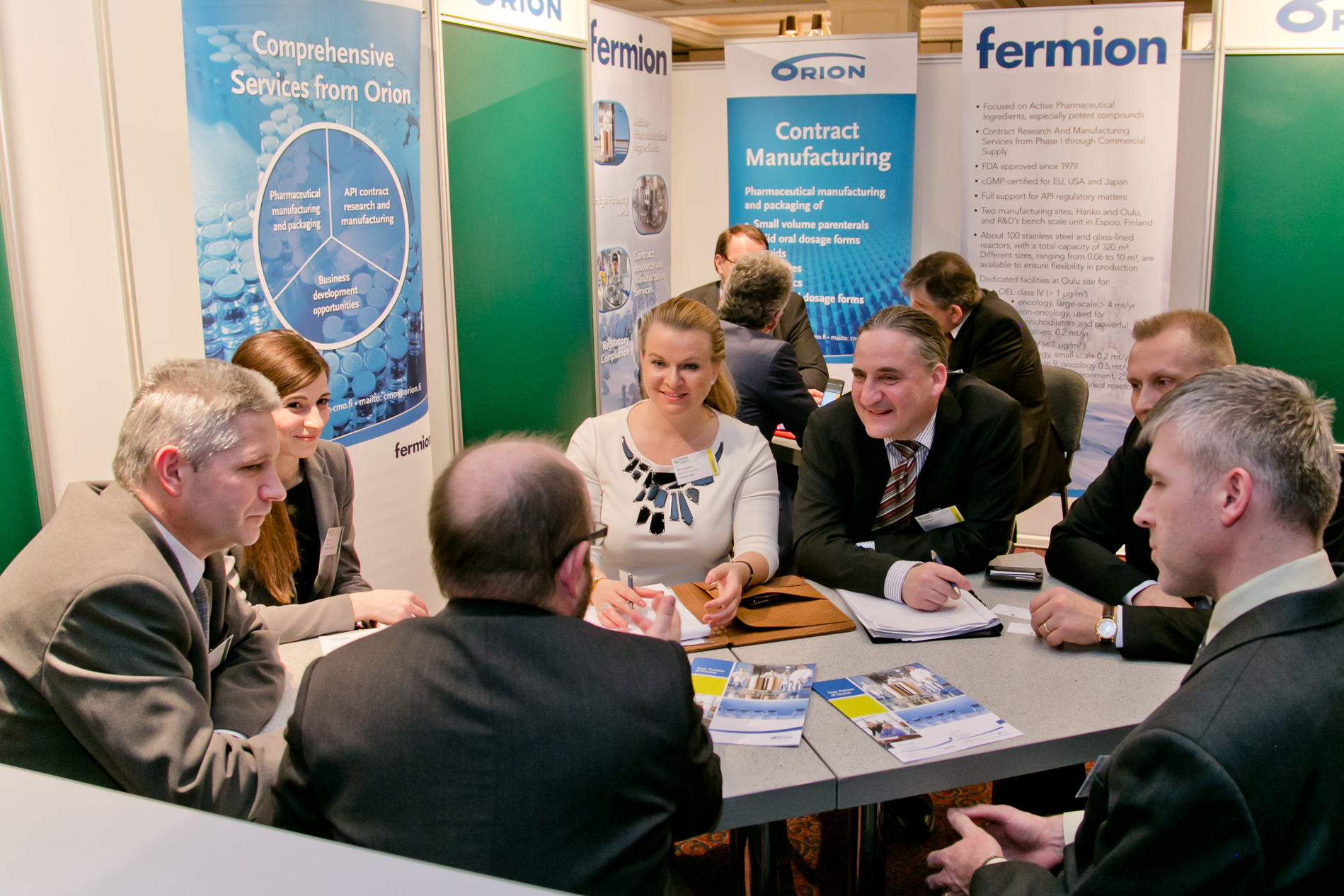 One-to-one meeting with Orion & Fermion at PHARM Connect 2015