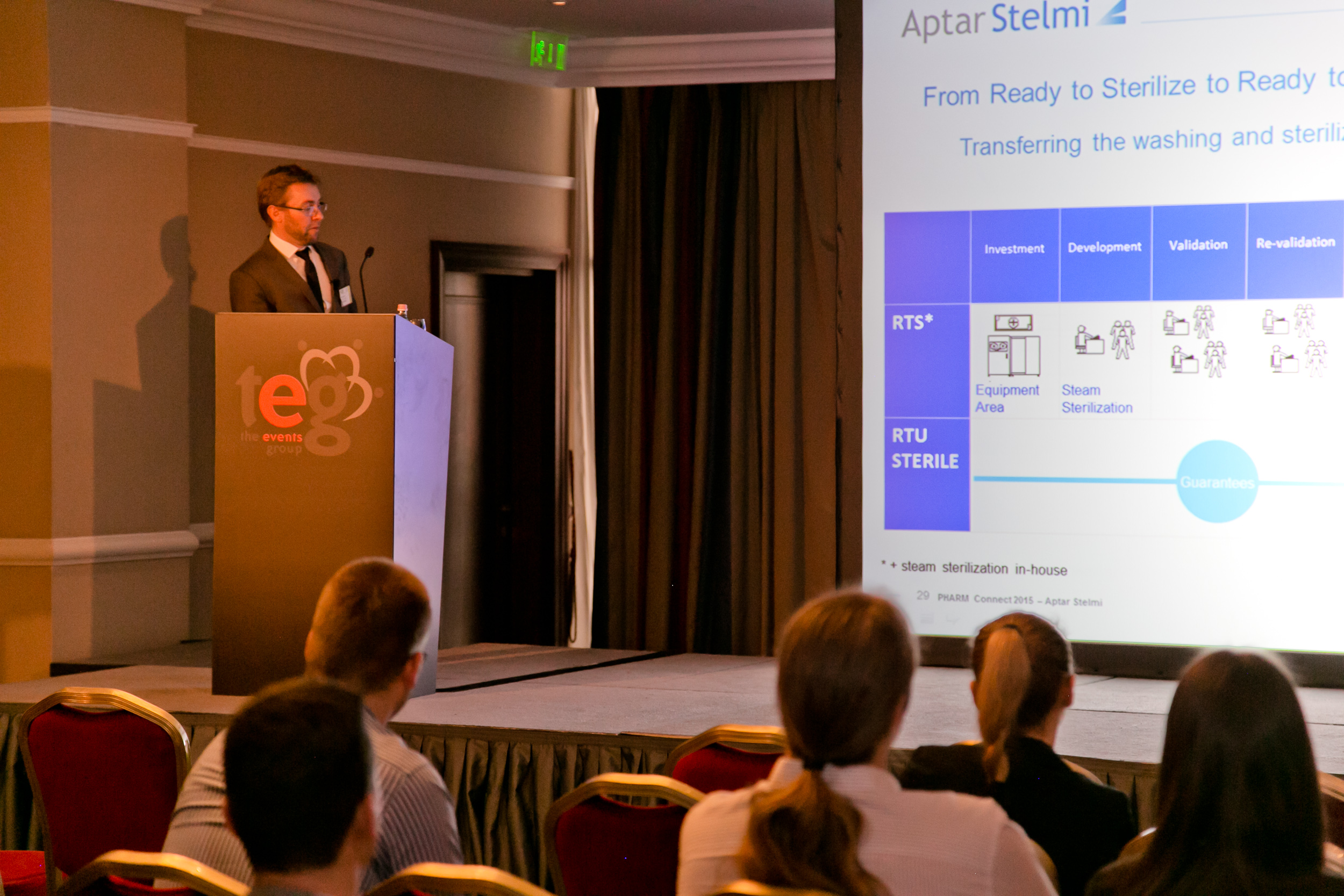 Bruno Morchain, Aptar Stelmi, Keynote presentation at PHARM Connect 2015