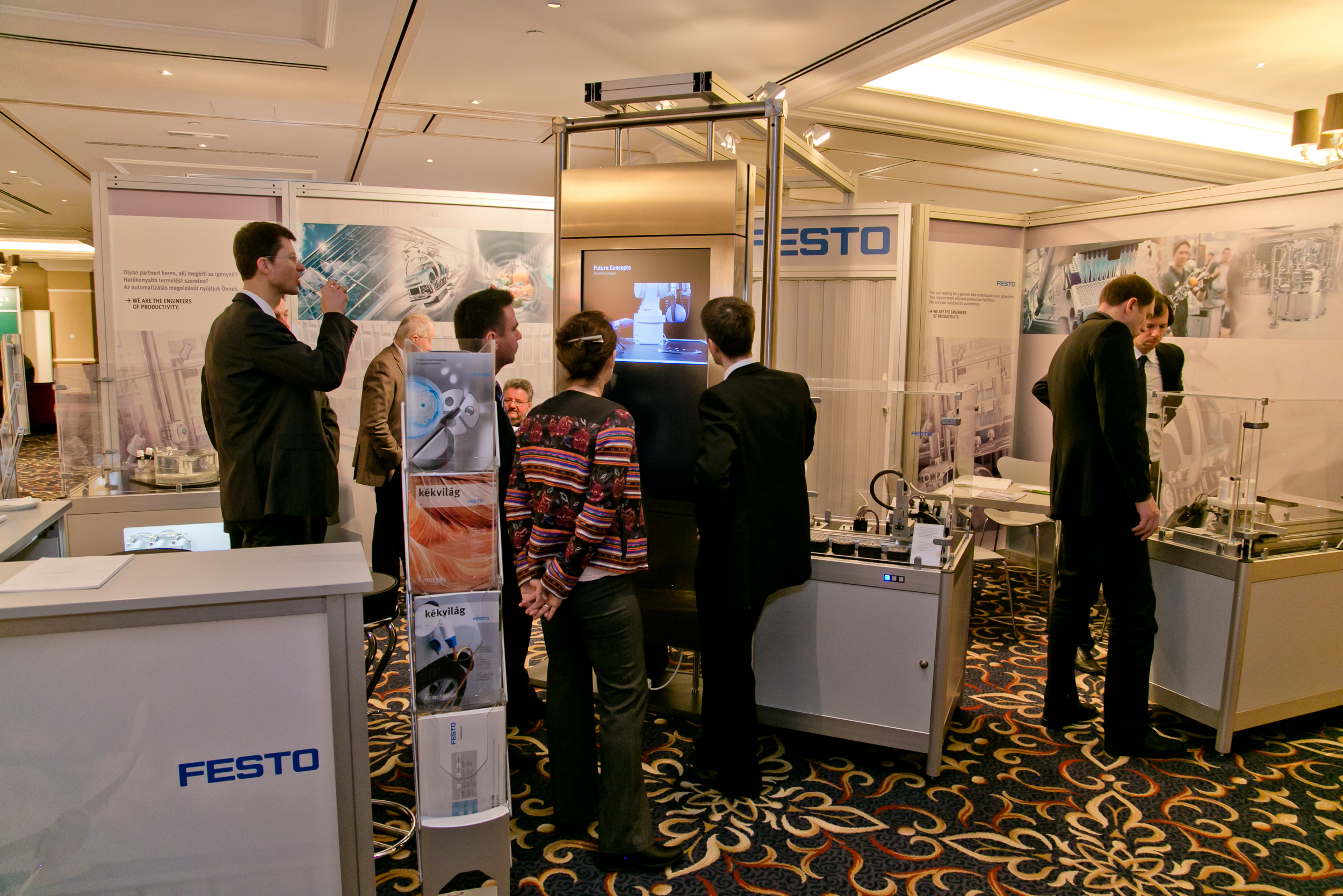 FESTO stand at PHARM Connect 2015