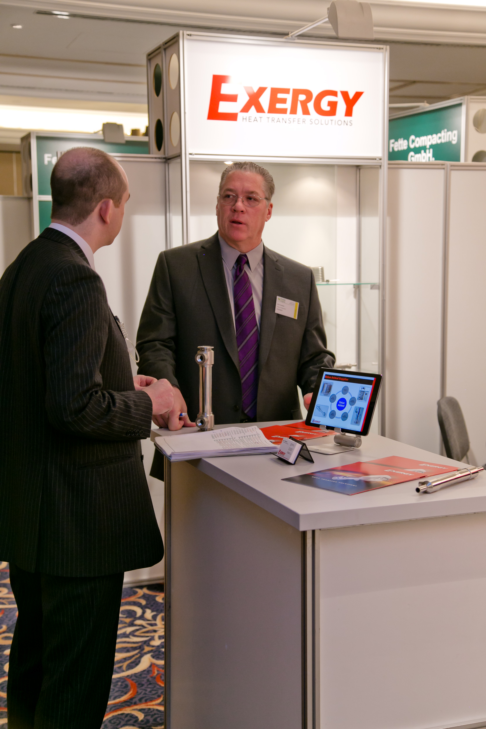One-to-one meeting with EXERGY at PHARM Connect 2015