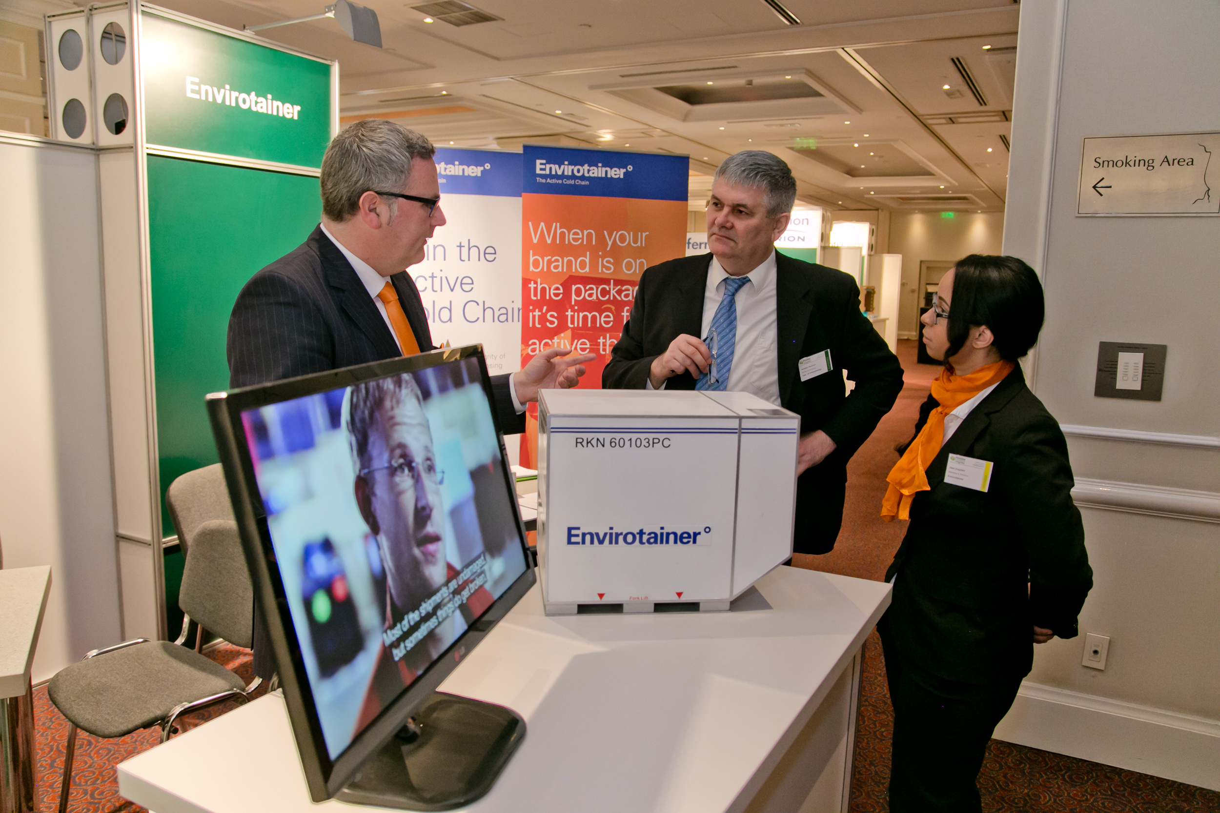 One-to-one meeting with Envirotainer at PHARM Connect 2015