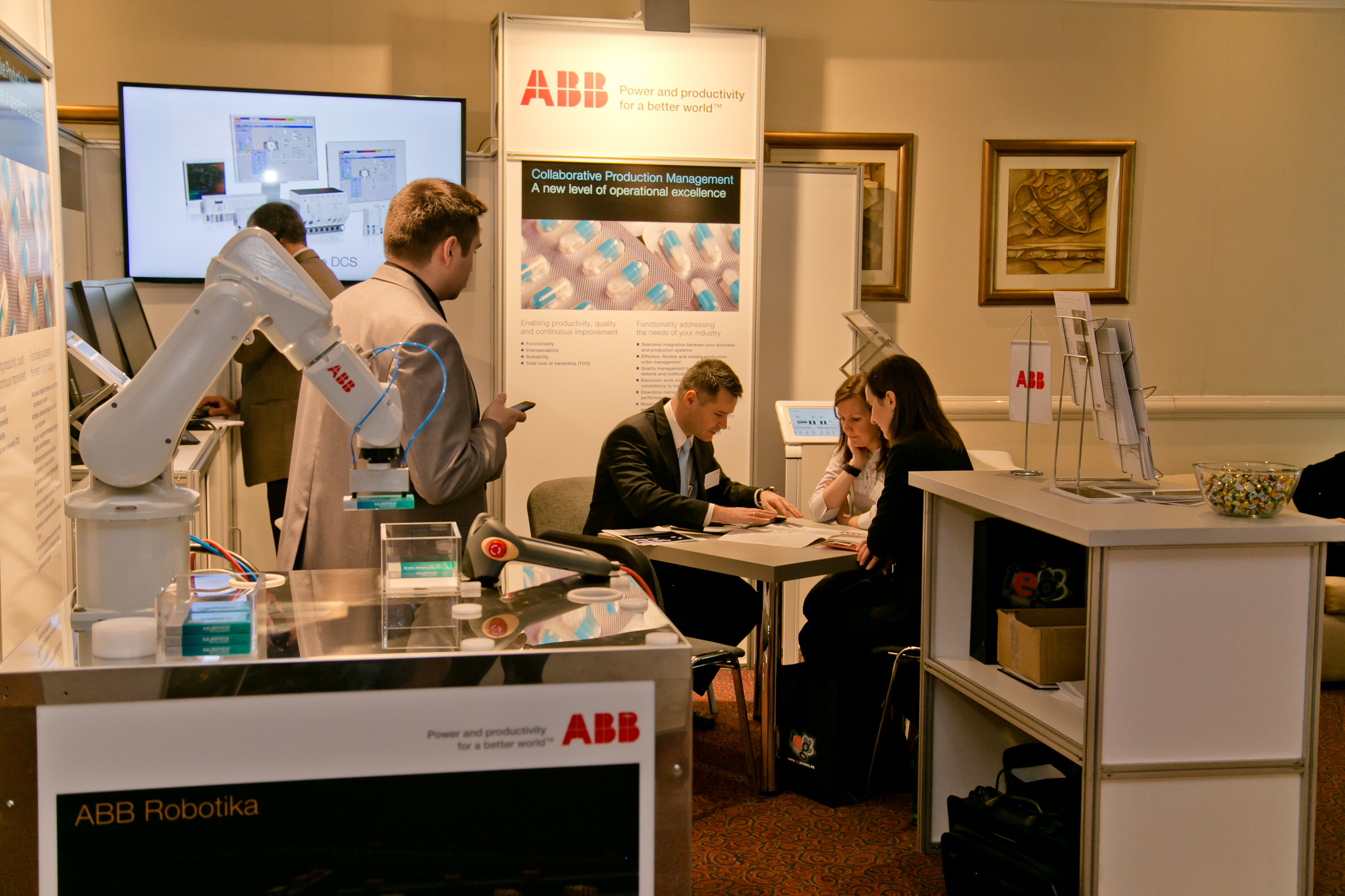 One-to-one meeting with ABB at PHARM Connect 2015