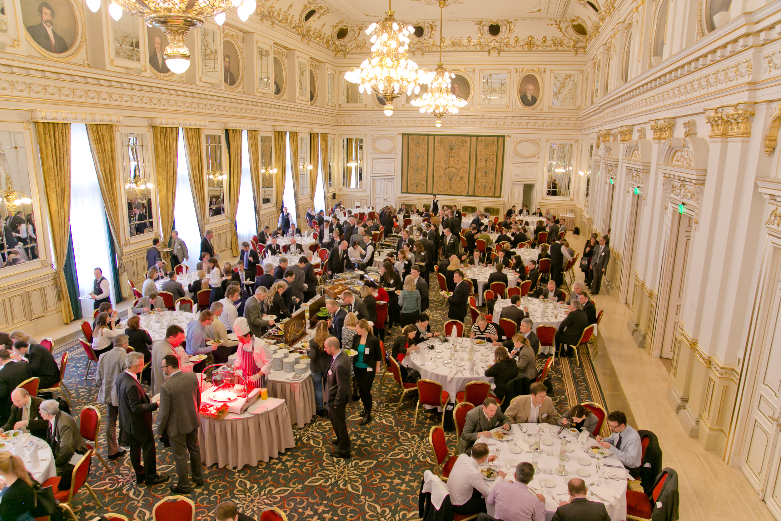 Lunch in the Grand Ballroom at PHARM Connect