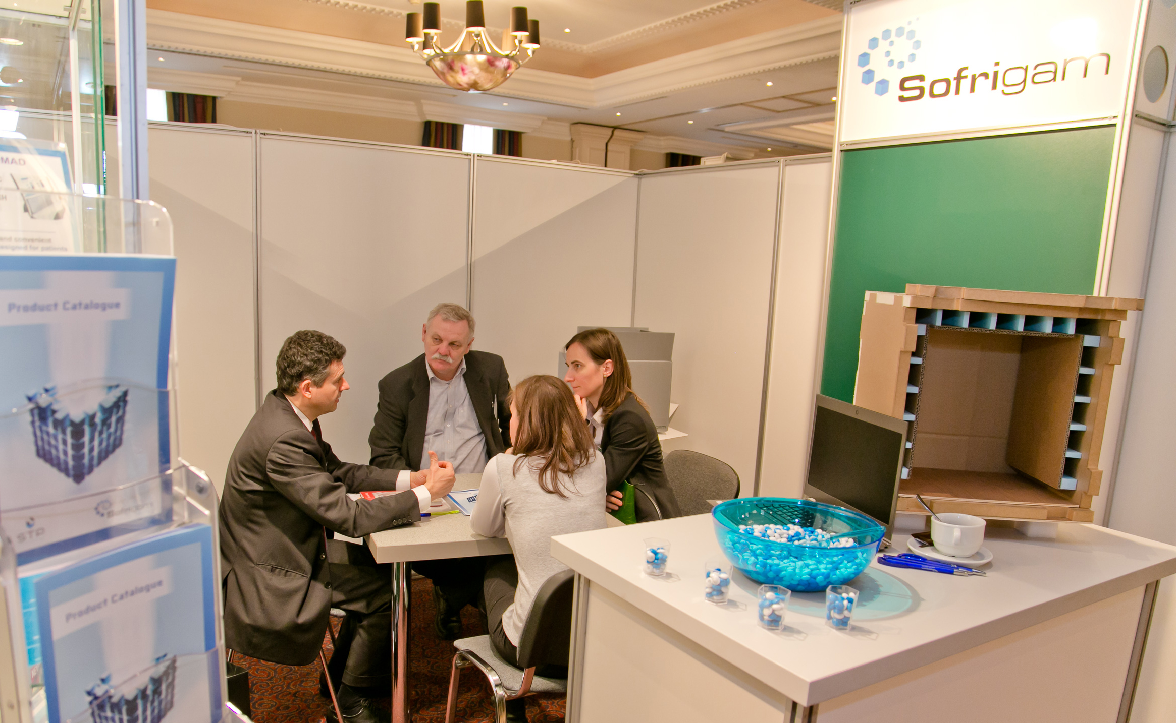 One-to-one meeting with Sofrigam at PHARM Connect 2015